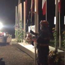 Realizan sentido homenaje a víctimas del tsunami del 27F en Isla Orrego