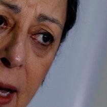 """Exdirectora Consuelo Contreras pone paños fríos a conflicto en el INDH: """"No veo una crisis, veo fuerza en el debate y punto"""""""