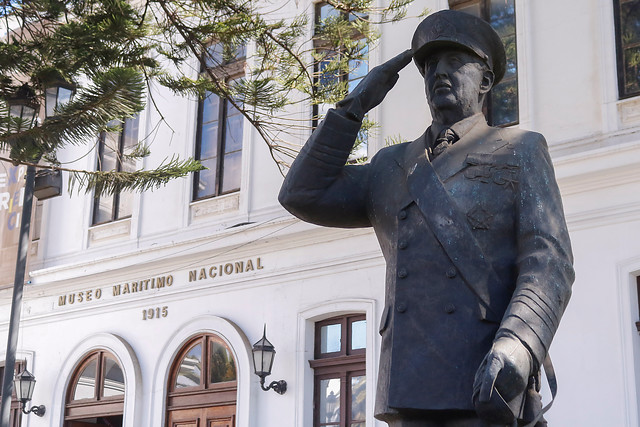Monumento al almirante Merino: Suprema rechaza recurso contra la Armada y se mantiene la estatua del ícono de la dictadura