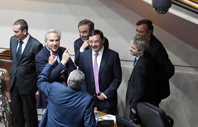 """Partido del orden """"salva"""" al intendente Guevara y se cae la acusación constitucional en el Senado"""