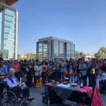 En el Centro de Justicia, Mariano Puga ofició misa para exigir libertad de los presos del estallido social