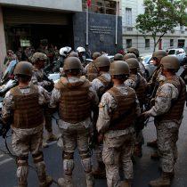 """Espina pone las manos al fuego: """"Las FF.AA. no tuvieron casos de violación a los derechos humanos"""""""