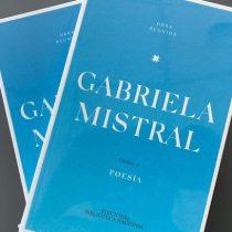 Lanzan primer tomo de la obra reunida de Gabriela Mistral