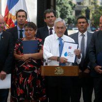 Mesa Nacional del Agua presenta a Piñera plan de soluciones para enfrentar la escasez hídrica