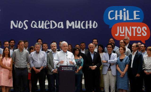 Nada nuevo bajo el sol: Piñera marca hoja de ruta de su Gobierno para 2020