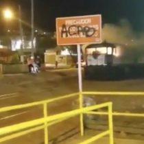 """Andrónico Luksic por quema de tren en Antofagasta: """"Nada justifica que la vida de dos personas y la seguridad de una ciudad entera se pongan en riesgo"""""""