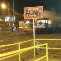 Decretan arresto domiciliario nocturno para imputado por desórdenes públicos durante ataque a tren del Grupo Luksic en Antofagasta