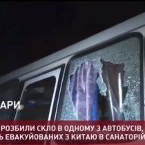Pánico por el coronavirus: protestas en Ucrania por la llegada de evacuados de China