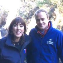 El video que complica a Ward: cuando el ministro celebraba la entrega de la administración del Parque Las Siete Tazas a una entidad privada