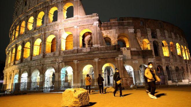 Coronavirus en Italia: postales turísticas de ciudades desiertas