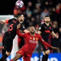 Champions League: Atlético de Madrid da el batacazo en Anfield y el PSG da vuelta la serie