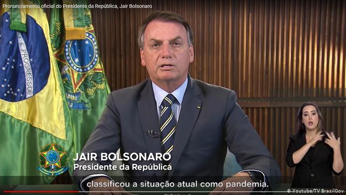 Bolsonaro pone en duda cifra de muertes por coronavirus y pide volver a trabajar