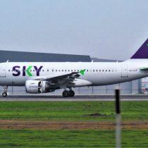 Sky suspende temporalmente sus vuelos entre el 25 de marzo y 30 de abril