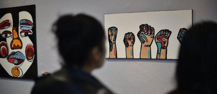 """Exposición """"Poderosas"""" de artista Co Huerta en Galería Homero Martínez Salas, Ovalle"""