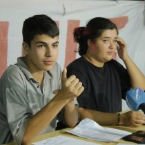 Organizaciones sociales salen en defensa de los secundarios detenidos en Ñuñoa