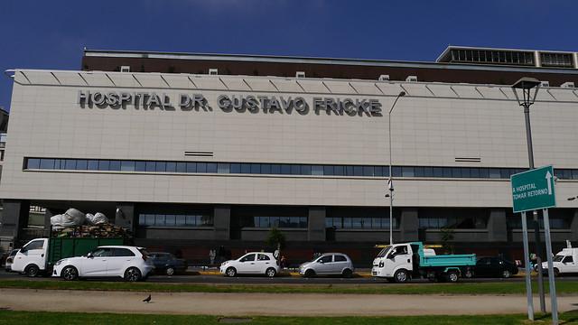 Hospital Gustavo Fricke de Viña del Mar confirmó que funcionario dio positivo al examen de COVID-19