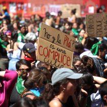 INDH denunció golpiza a una manifestante en la marcha del 8M