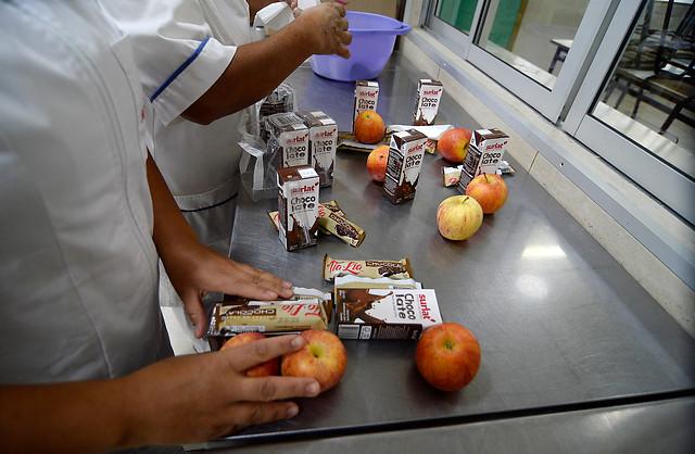 Junaeb admitió que canastas de alimentos para estudiantes no se han repartido con todos los productos