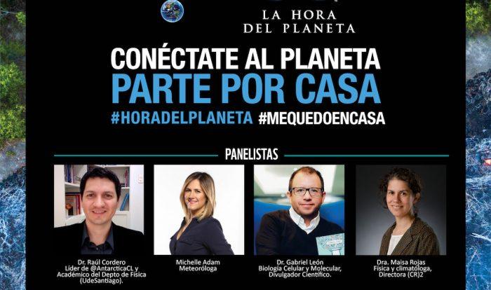 Hora del Planeta: expertos expertos realizarán webinar sobre el cambio climático