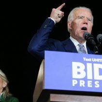 Biden domina