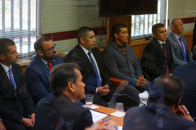Crimen de Catrillanca: en Angol comenzó finalmente el juicio oral en contra de los ocho acusados