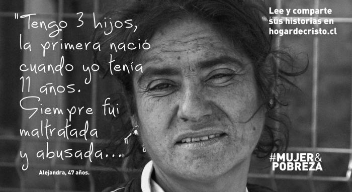 """""""Feminización de la pobreza"""": 54,3% de los más pobres de Chile son mujeres"""