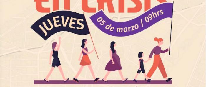 """Conversatorio """"Mujeres y ciudad en crisis"""" en Campus Lo Contador UC"""