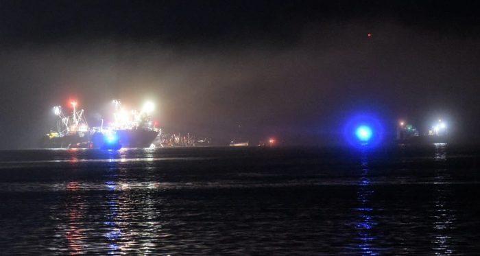 Seis personas fallecidas tras choque de dos embarcaciones en la bahía de Corral