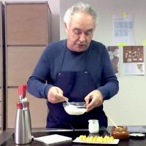 Ferran Adrià da algunas de sus recetas para pasar la cuarentena