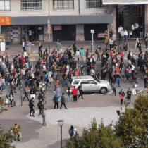 Primer lunes de marzo en regiones: manifestaciones se toman las calles de Concepción, Temuco y Antofagasta