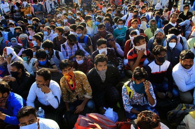 Coronavirus: cómo el encierro en India por el covid-19 se convirtió en una tragedia humanitaria