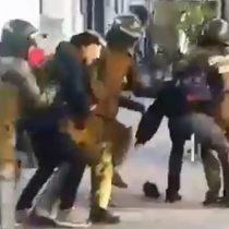 Dos años de Piñera: Se registran los primeros enfrentamientos en el Instituto Nacional