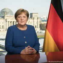 """""""Esto es serio, tómenlo en serio"""": el inédito mensaje de Merkel a los alemanes por el coronavirus"""