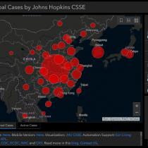 La plataforma que permite visualizar los casos de coronavirus en el mundo