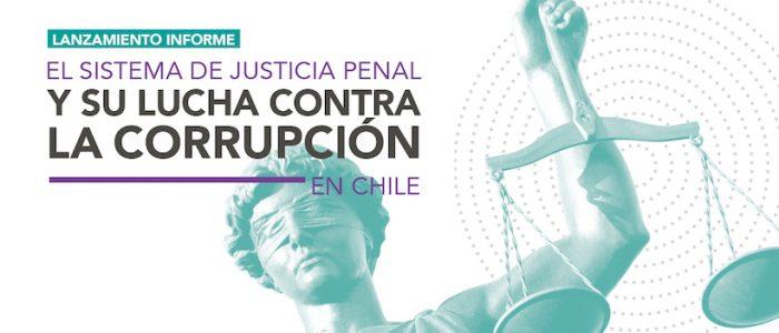 """Lanzamiento investigación """"El Sistema de justicia penal y su lucha contra la corrupción en Chile"""" en Espacio Público"""
