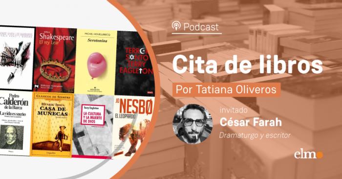 """César Farah: """"Siempre se puede retornar a los clásicos, Ibsen, Strindberg son autores del siglo XIX que se dejan leer contemporáneamente"""""""