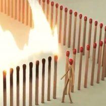 Quédate en casa: el video protagonizado por fósforos que explica la importancia de la cuarentena por el COVID-19