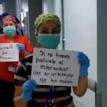 Funcionarias del Hospital Sótero del Río hacen llamado al autocuidado para enfrentar brote del coronavirus