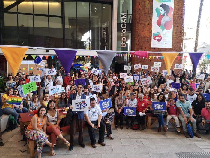 """""""Ahora Nos Toca Participar"""": independientes lanzan campaña para incidir en el proceso constituyente"""