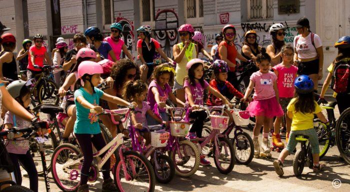 Previa del 8M: «Cicletada de las niñas» marcará la jornada del sábado en Santiago