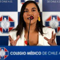 Izkia Siches, presidenta del Colegio Médico, en la primera línea contra la pandemia del Covid-19