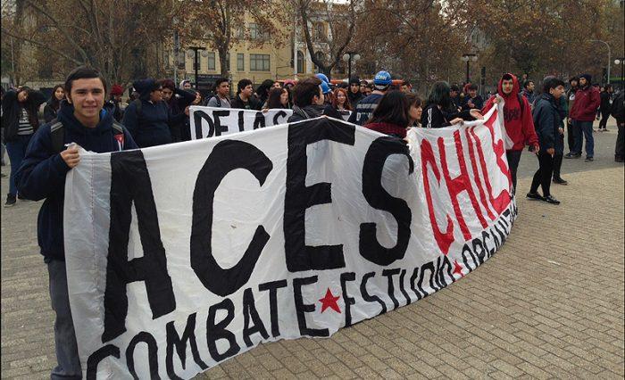 ACES llama a una toma a nivel nacional para exigir la renuncia de Piñera