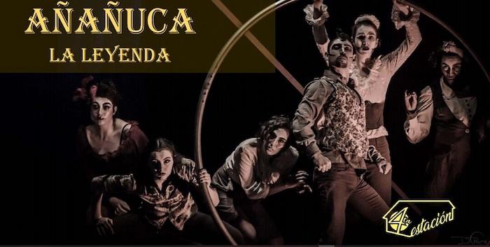 Obra de circo contemporáneo «Añañuca, La Leyenda» de Circo Cuarta Estación en Carpa de Circo Social Quetralmahue, Rengo