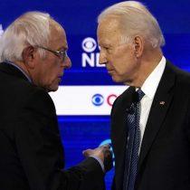 Biden y Sanders, de nuevo cara a cara en el