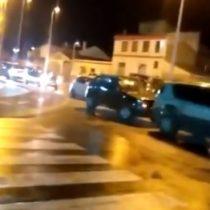 Residentes de Punta Arenas bloquean el desembarco de personas que llegan de cruceros turísticos