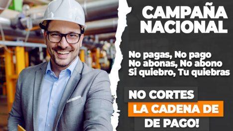 """Campaña """"Yo pago, Tú pagas"""" busca mantener el empleo y evitar la quiebra"""