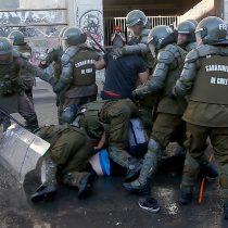 Heridos por lacrimógenas, atropellados y apaleados por Carabineros: el balance del INDH de los lesionados el lunes en Plaza de la Dignidad