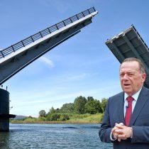 Diputado Berger aseguró que existe inquietud por falta de avances y novedades en el puente Cau-Cau