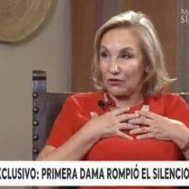 """""""Fue un desahogo"""": Cecilia Morel se refirió a su audio filtrado en el contexto del inicio del estallido social"""