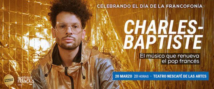 Semana de la francofonía: Concierto de Charles-Baptiste en Teatro Nescafé de las Artes